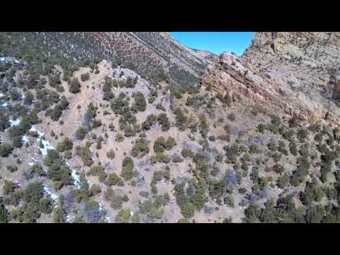 Yuneec Breeze Tour of a few Moffat County Colorado scenic locations.