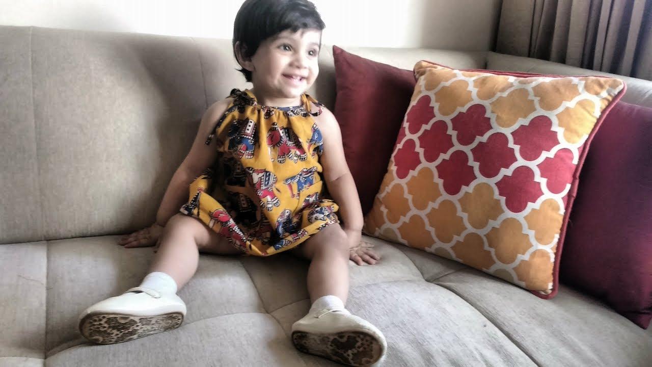 DIY Summer Dress by Kalpana Talpade / Baby Frock for 6 year old girl