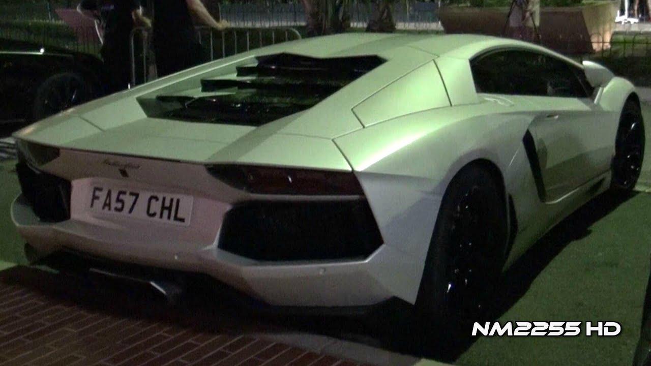 Modified Lamborghini Aventador Loud Sound Youtube