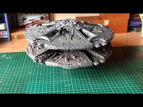 Battlestar Galactica Base Star Group Build