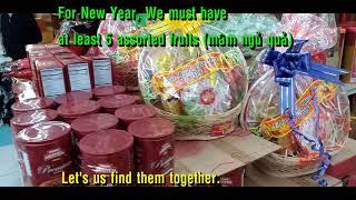 tết  Việt Nam 2020    kẹo bánh mứt và ngủ quả giá bao nhiêu ở mỹ ? 