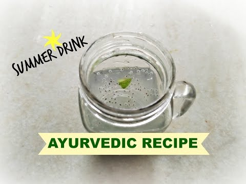 Refreshing Summer drink | Ayurvedic Recipe