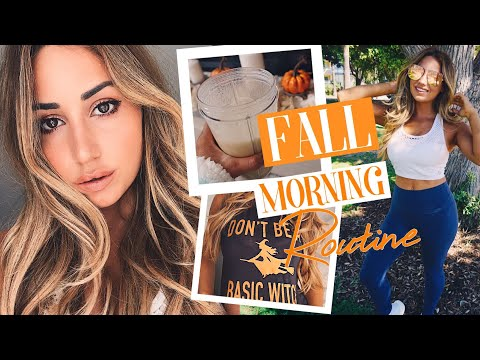 My Healthy Fall Morning Routine 2017