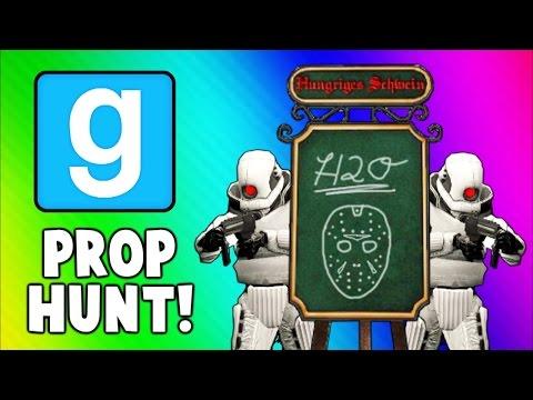 Gmod Prop Hunt Funny Moments - H2O Menu, Retired Navy Seal, Secret Spots! (Garry's Mod)