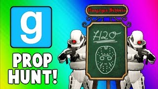 Gmod Prop Hunt Funny Moments - H2O Menu, Retired Navy Seal, Secret Spots! (Garry