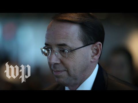Rosenstein holds a news conference