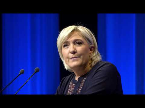 Marine Le Pen en meeting à Metz le 18/03/2017
