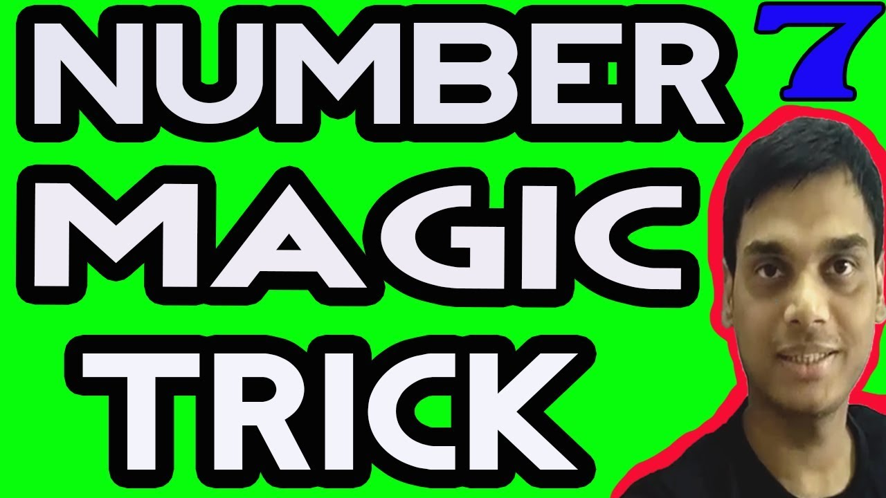 how to make a number trick