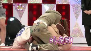 [HD] SNSD - SeoHyun V.S Sooyoung !! @ 100206