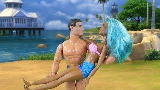 Rodzinka Barbie- Iza w Top Model (Sesja Zdjęciowa) Bajka po polsku the Sims 4 odc.28