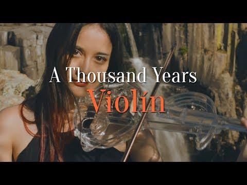A Thousand Years - Violín Cover Crystal Violin Irazú / ACULCO Edo. Mex