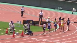 20160618北信越総体3000mSC予選2組