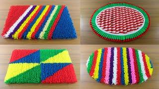Top 5 Doormat Design Ideas 🚲 Creative Paposh Designs 🍎 5 Awesome Doormat at Home !