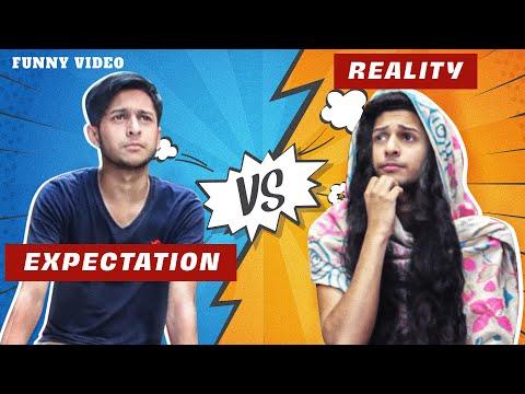 Expectation Vs Reality   প্রত্যাশা বনাম বাস্তবতা   Bangla Funny Video   Tawhid Afridi  