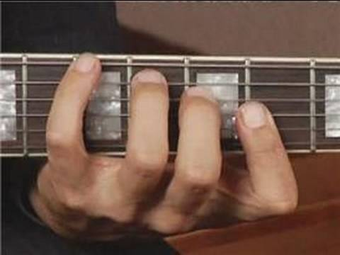 Play B Aug Chord on the Bottom Guitar Strings: Root Position ...