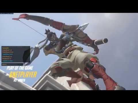 Overwatch 02 19 2018   17 25 18 10 DVR   The Great Hanzo Wars