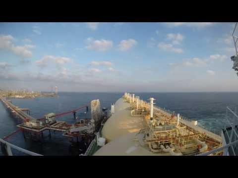 LNG Ship Timelapse