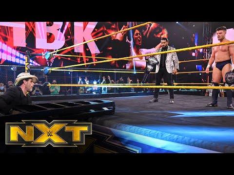 Shawn Michaels' silent suggestion for Santos Escobar and Jordan Devlin: WWE NXT, March 24, 2021