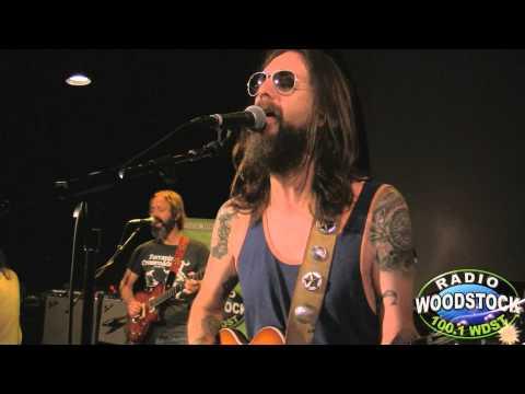 "Chris Robinson Brotherhood - ""Rosalee"" - Radio Woodstock WDST 100.1 - 8/24/12"