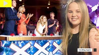Manchester Attack Survivor Hollie Booth Auditions For Britain's Got Talent Performing Ariana Grande