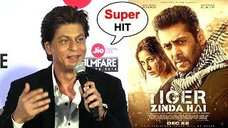 SRK's Amazing Reply On Salman Khan's Tiger Zinda Hai Movie - SUPER Hit