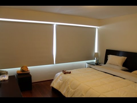 3 cortinas modernas para dormitorios per cortinas black out youtube - Cortinas para habitaciones modernas ...