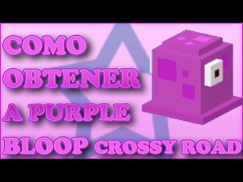 Como desbloquear a Purple Bloop en Crossy Road