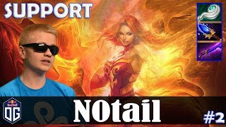N0tail - Lina Safelane | SUPPORT | Dota 2 Pro MMR Gameplay #2