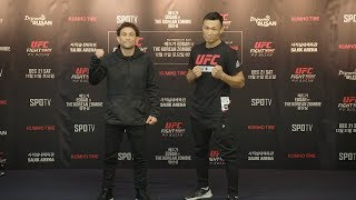 UFC Busan: Media Day Faceoffs