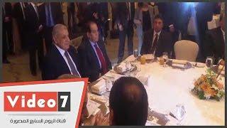 الجنزورى و6 وزراء من الحكومة السابقة يشاركون بحفل تكريم محلب