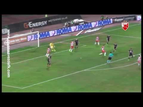 Crvena zvezda - Čukarički 3:0, highlights