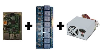 [Howto] Raspberry PI + Relay module + ATX PSU [French + EN subs]