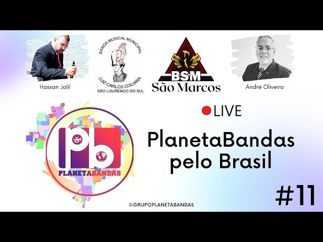 Live PlanetaBandas # 11 - Equipe PB com Maestro Hassan Jalil  e Maestro André de Oliveira