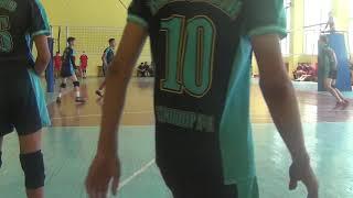 Волейбол. ЗКО- ВКО .  Третья партия. 1-2