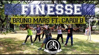 Finesse by Bruno Mars ft. Cardi B | Zumba Fitness by zin James A. and ZNTeam