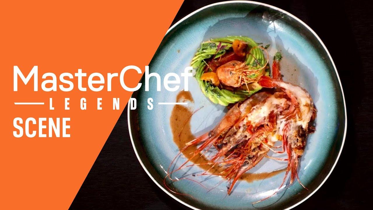 These Three Chefs Raise The Bar with California Prawn Dishes   Season 11 Ep. 8   MASTERCHEF