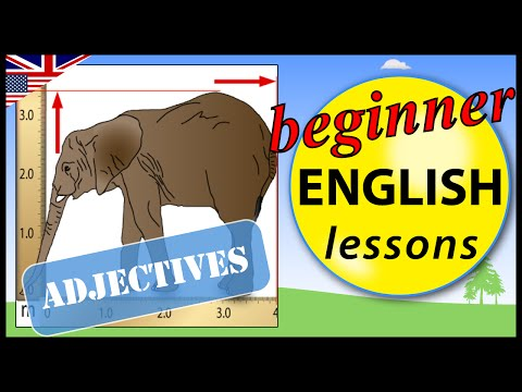 English adjectives | Beginner English Lessons for Children