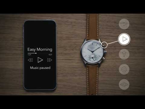 How to use a Kronaby connected smartwatch