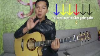 [Guitar] Palm áp dụng cho Slow Rock Guitar