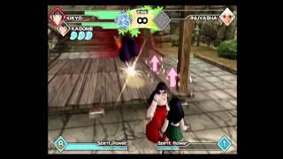 Inuyasha Feudal Combat: Kikyo and Kagome vs (Demon) Inuyasha