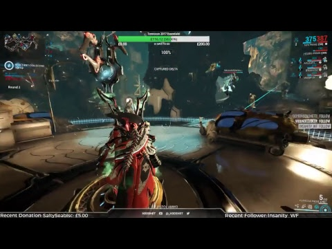 (Warframe) The Hunt for Banshee Prime - Open Squad! #AMA