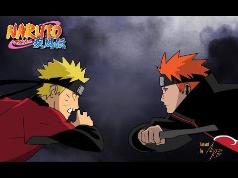 [AMV] Naruto vs. Pain- Linkin Park - YouTube