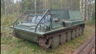 Знайшли в лісі ГАЗ-71 — радянський гусеничний транспортер!