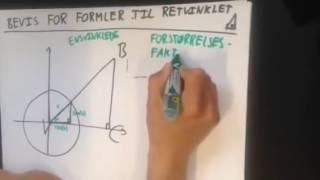Formler til retvinklet trekant