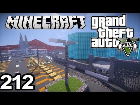"GTA 5 in Minecraft #212 | ""NEW SERVER + FREE PLOTS"""
