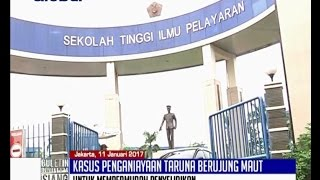 Taruna Tewas Dipukuli Senior, Kepala STIP Capt Weku Frederik Karuntu Dicopot - BIS 11/01