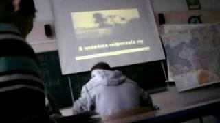 Sabaton 40:1 In Polish School on history lesson | 40:1 na lekcji historii w polskiej szkole