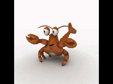 3D Rigged and Animated Cute Cartoon Sea Animal Character ...
