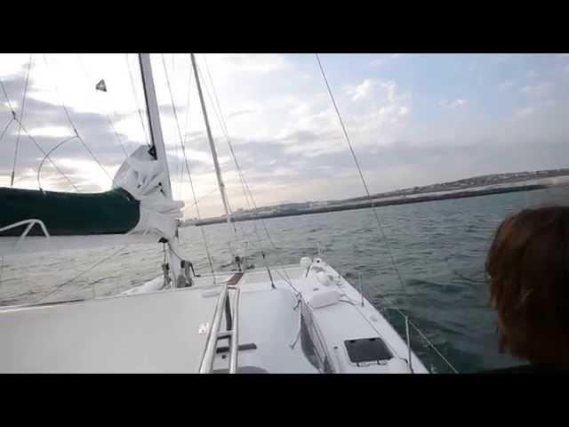 Yachtüberführung Cuxhaven-Brighton Juli 2015