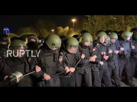 Russia: Protests continue over planned church in Yekaterinburg